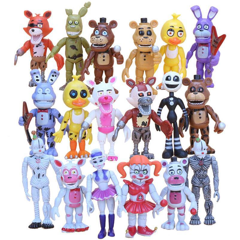 2019 10cm Five Nights At Freddy S Fnaf Baby Funtime Foxy