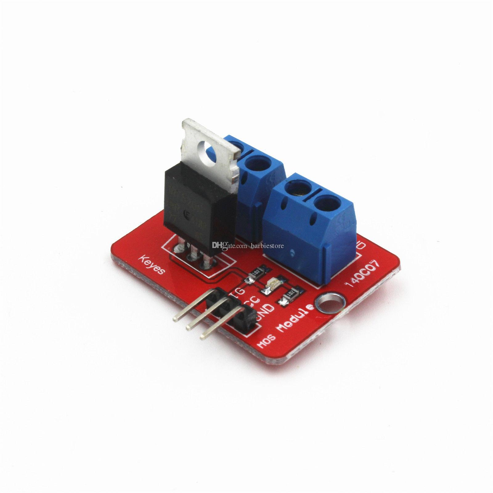 Red IRF520 MOS FET Driver Module for Arduino IRF 520 DE DC PWM B00217 BARD
