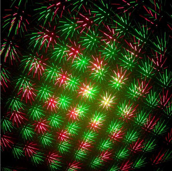 نموذج تلقائي نشط بالصوت 150mW أحمر وأخضر ليزر صغير ، ضوء المرحلة ، أضواء LED ، الإضاءة ، أضواء بار ، غرفة حفلات بار النادي