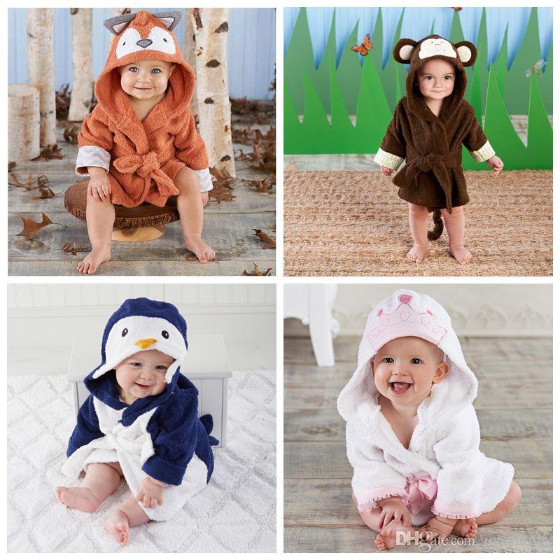 Baby Animal Pajamas Fox Monkey Penguin Pyjamas Christmas Costume