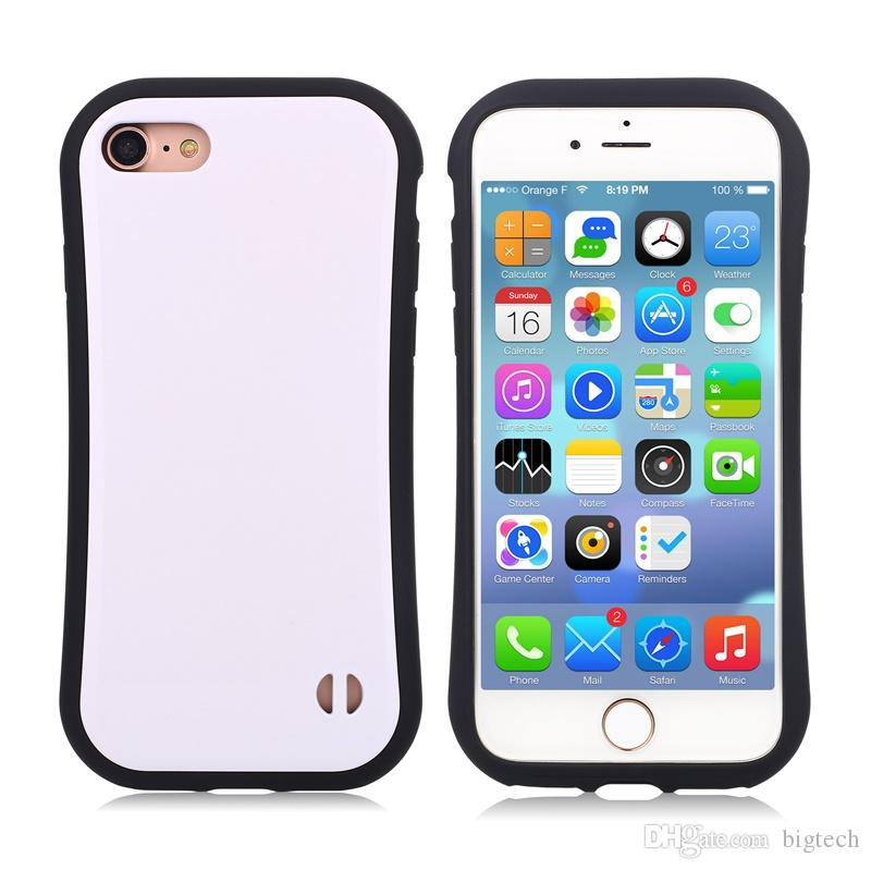 Korea Fashion Silicone TPU+PC Phone Case for iphone 7plus 5.5inch lg x power k210 Candy Color Small Waist Soap Slim Mobile Phone Case
