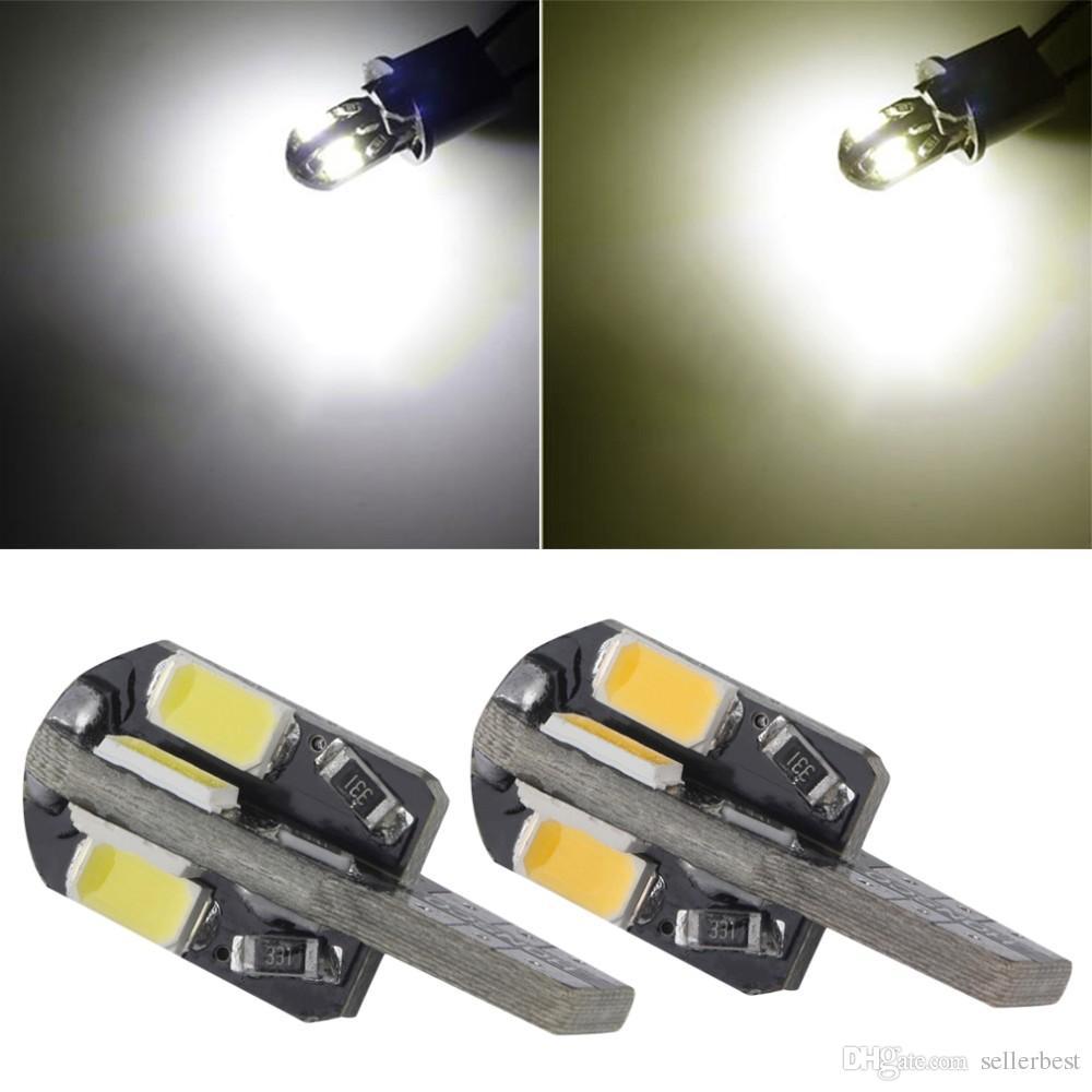 CAN BUS T10 2W 8 SMD 8SMD LED 5730 5630 Kaltweiß / Warmweiß Licht Keilsockel w5w 168 Dome 12V Glühlampe