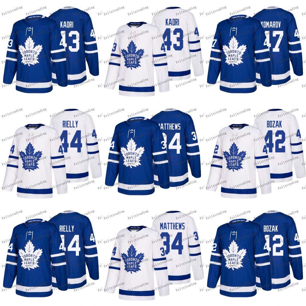 Toronto Maple Leafs Hockey Jerseys 2018 New Season 34 Auston ... 73073ee843b