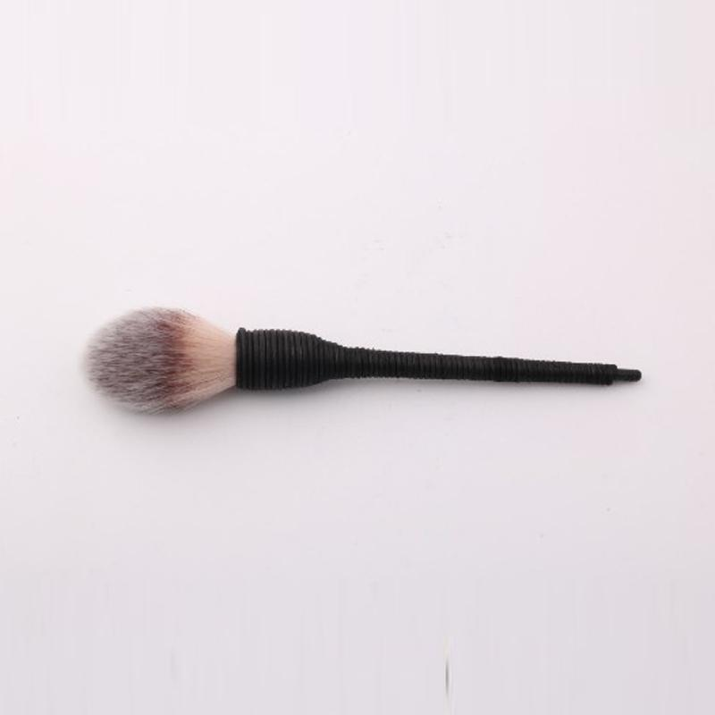 30 ADET Pro Kadınlar Kabuki Düz Kontur Allık Pudra Fondöten Göz Farı Yüz Makyaj Fırça Doğa Keçi Saç Kozmetik Araçları