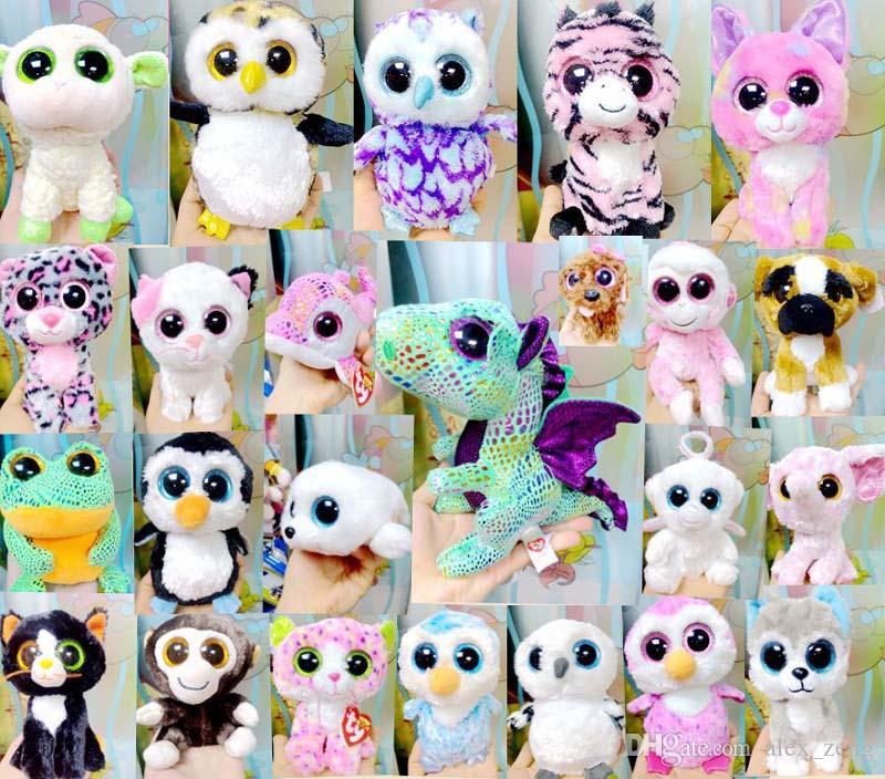 Ty Beanie Boos Plush Stuffed Toys Wholesale Big Eyes Animals Soft Dolls for  Kids Birthday Gifts Free EMS Ty Beanie Plush Toys Ty Beanie Toys Plush Doll  Toys ... 3a76ab1b196b
