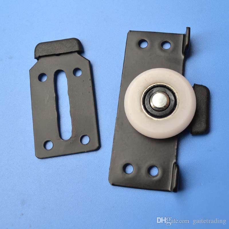 mobili caster armadi Posizionamento semipuleggia nylon puleggia armadio classificatore puleggia parte scorrevole porta ruota hardware mobilia