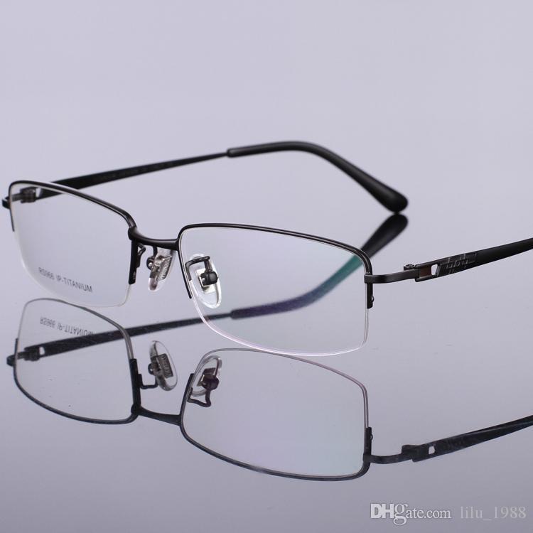 Großhandel 2016 Neue Titan Halbrund Brillen Rahmen Klar Linse Brille ...