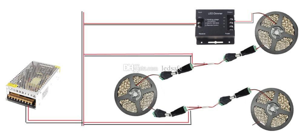 10m 20n 15m 5m LED Bande Lampe de Lumière