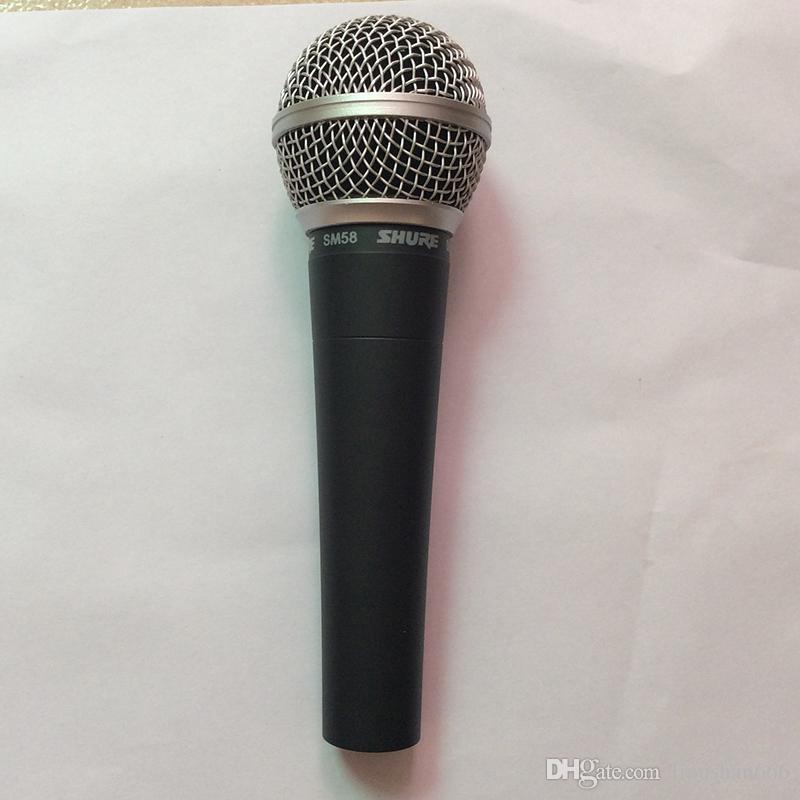 Высокое качество версия SM58LC вокал Караоке микрофон динамический проводной портативный микрофон Бесплатная доставка