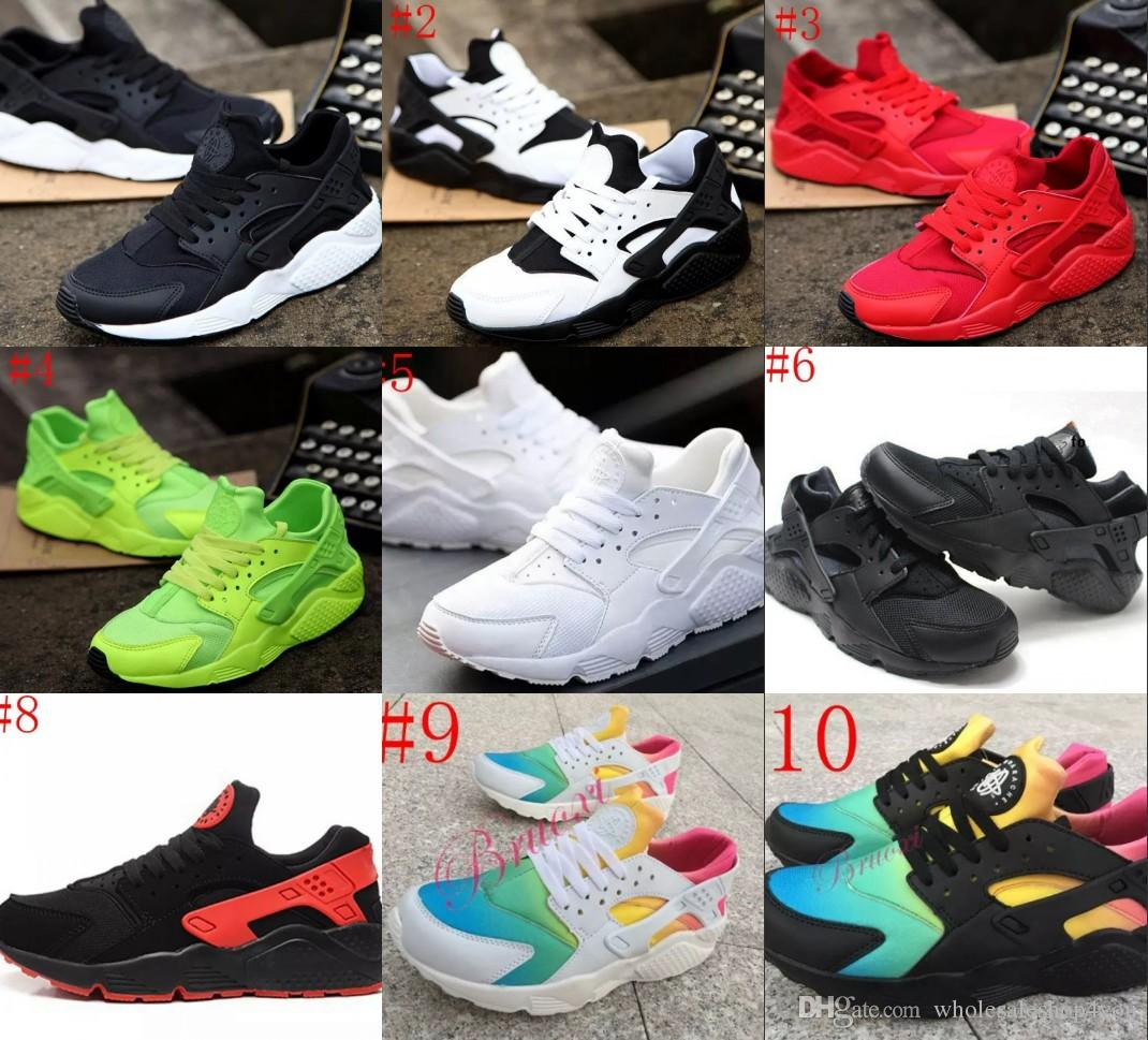 2017 Best Quality Huaraches Ultra Breathable Running Shoes Women Air  Huarache Shoes Athletic Sport Sneakers Eur Size 36 46 Buy Shoes Online Slip  On Shoes ...