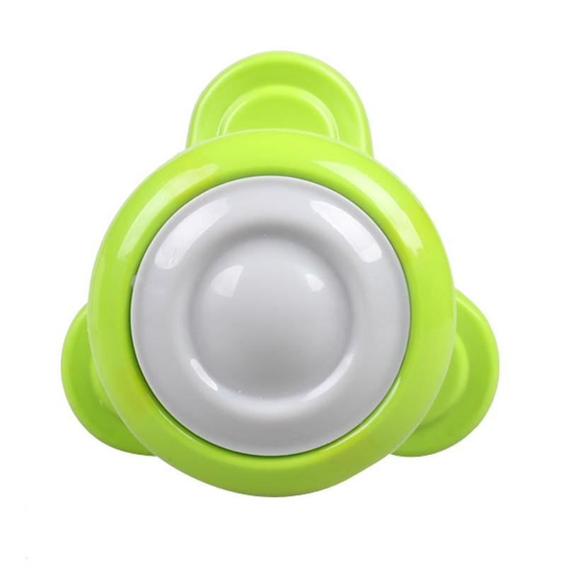 High Quality Mini USB Electric Handled Wave Vibrating Massager Full Body Massage Releases aches Green