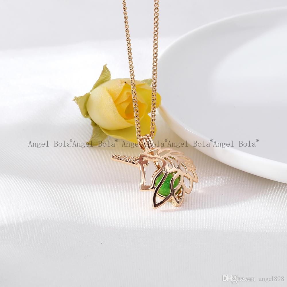 5Wholesale 3 Styles in stock 18kgp Fashion King of beasts lion cages DIY pearl /gem beads locket cages Pendant neckl