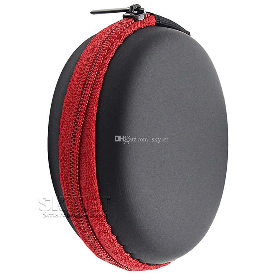 High Quality Earphone Storage Carrying Bag Earpphone Earbud Case Cover For USB Cable Key Coin Mini Zipper Case Without Package