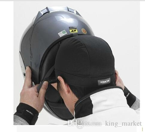 Fast Dry Absorbe Coolmax Material Sweat Absorp Skull Cap Motorcycle Racing  Helmet Inner Hat 56b58e63624