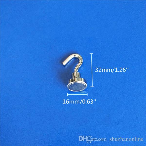 Herramienta magnética del salvamento del imán del neodimio de los imanes de los ganchos de los ganchos magnéticos de 16m m