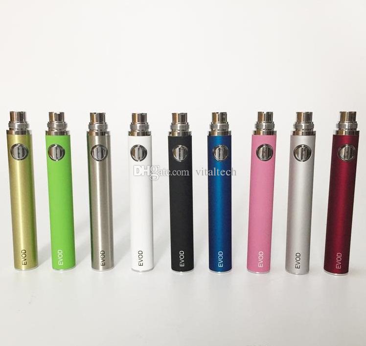 Evod MT3 kit blister E-cigarro kit mt3 tanques e cigarro EVOD atomizador Clearomizer Evod bateria ego cigarro kit cigarros eletrônicos