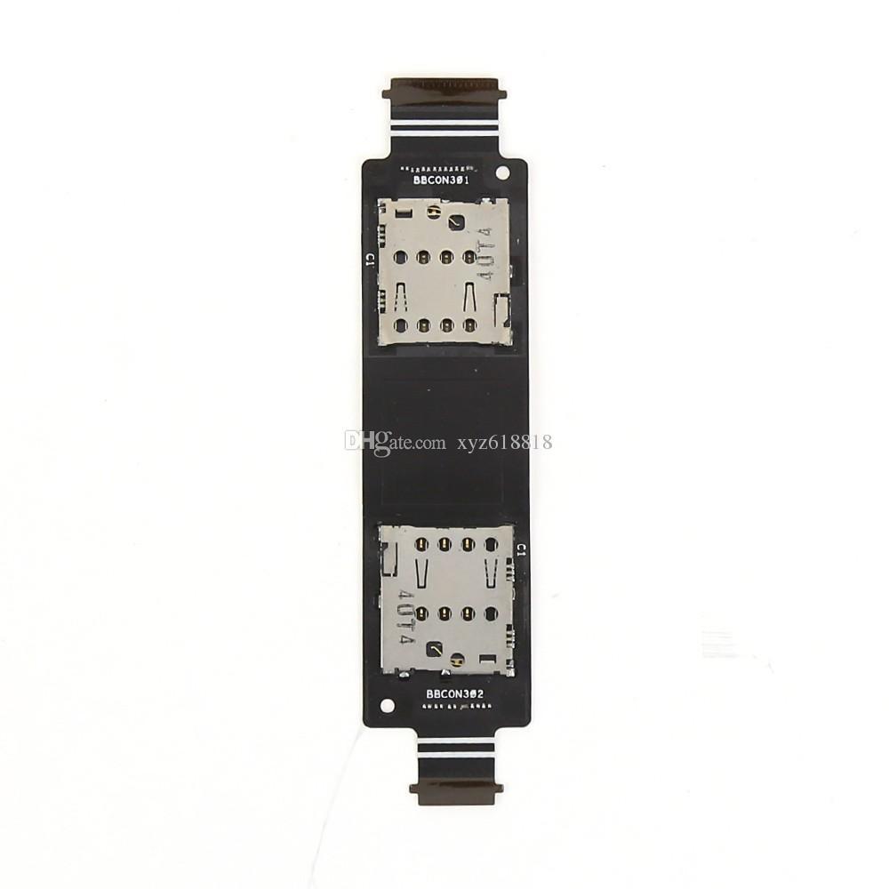 Nouveau Remplacement Zenfone 5 Lecteur de Carte SIM Slot Socket Slot Tray Titulaire Flex Câble Ruban Pour ASUS Zenfone 5 A500CG A501CG T00J T00F