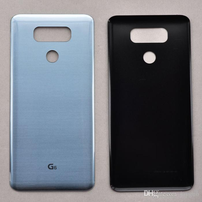 For LG G6 H870 H871 H872 H873 LS993 Back Battery Cover Door Rear Panel  Glass housing With Adhesive Sticker