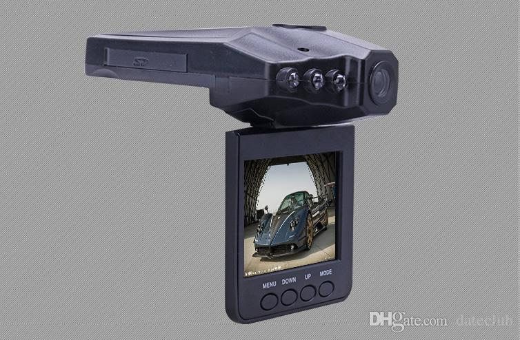 High quality 2.5'' Car Dash cams Car DVR recorder camera system black box H198 night version Video Recorder dash Camera 6 IR LED