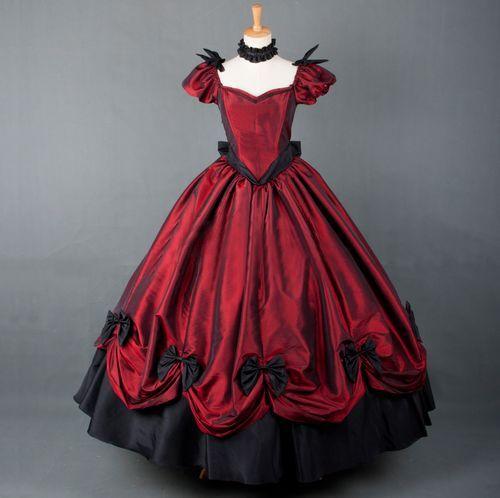Wholesale Gothnic Lolita Gown Vampire Gothic Victorian Dress ...