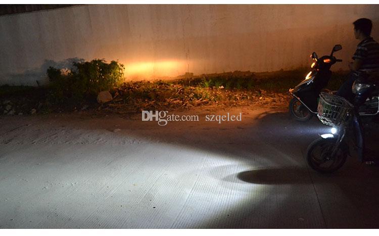 4 LED 12w autocycle autobikike Dight Motor Motorcycle Bike Spot Nevoeiro Farol Lâmpada de Condução K1385