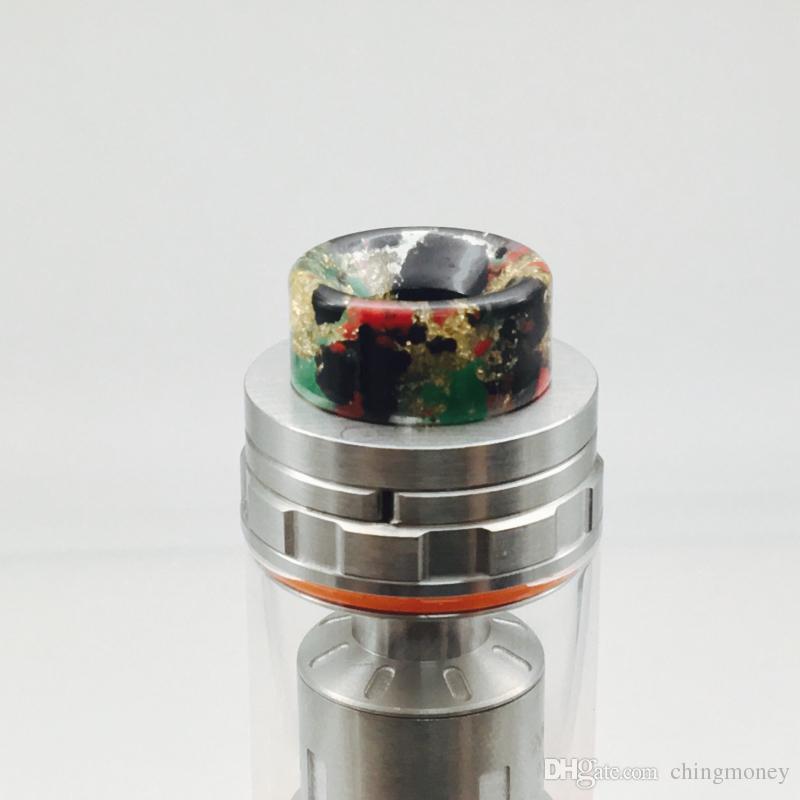 전자 연기 노즐 vape 홀더 최신 810 수지 드립 TFV8 담배 홀더 송신기 무게 2g inStock 뜨거운 판매 및 고품질
