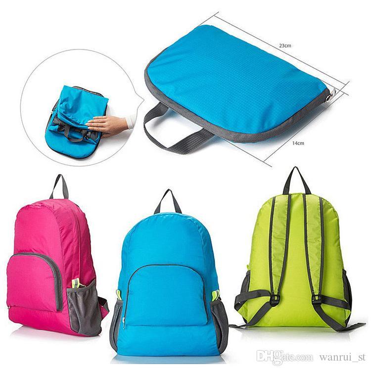 HEIßER verkauf männer frauen outdoor reise tragbare taschen falten leichte wasserdichte rucksack sporttasche reit haut tasche lagerung rucksack