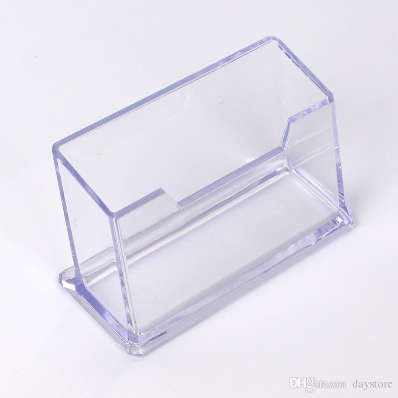 2018 1 Tier Premium Acrylic Clear Business Card Holder Display ...