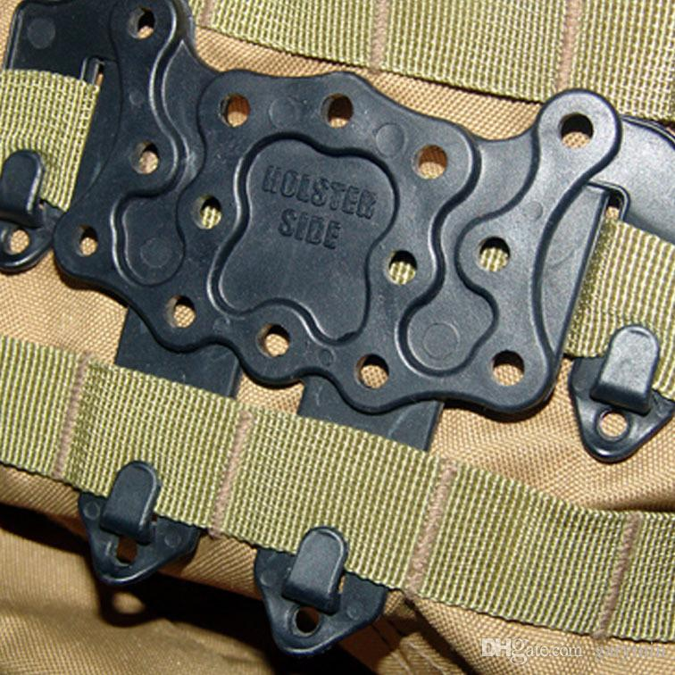 SWAT airsoft STRIKE molle holster platform panel Tactical Vest Accessory Holster ht133