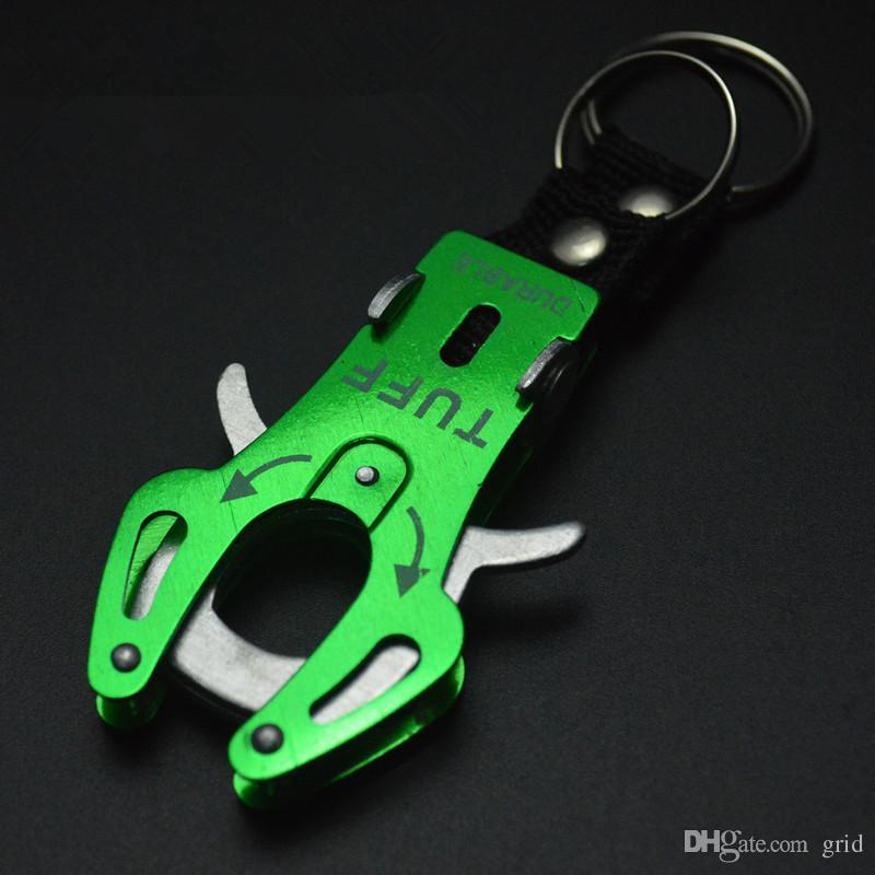 Wholesale Fashion Durable Snap Clip Climb Hook Carabiner Clip Lock Keychain Keyring Key Ring