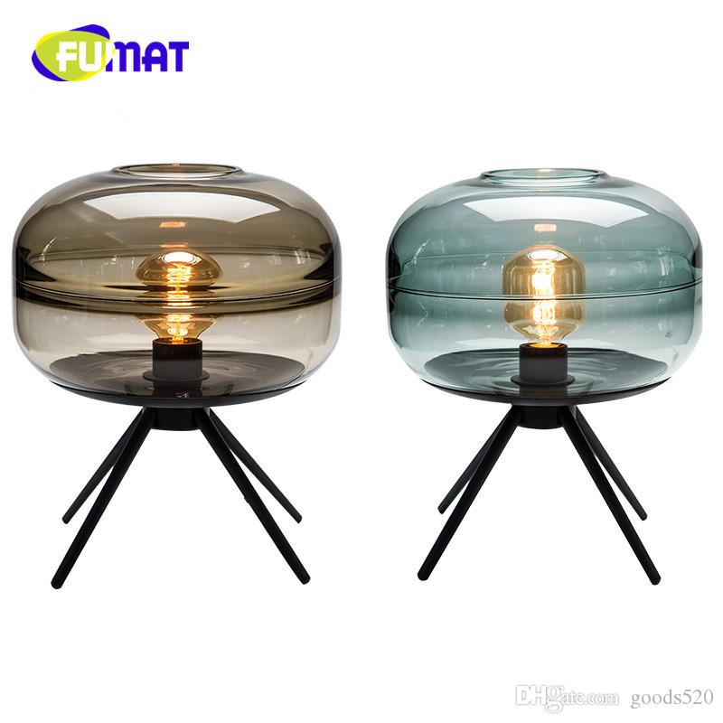 2018 fumat modern glass table lamp for home living creative art 2018 fumat modern glass table lamp for home living creative art handmade glass ornaments decoration desk lamp lampara decorativa from goods520 aloadofball Gallery