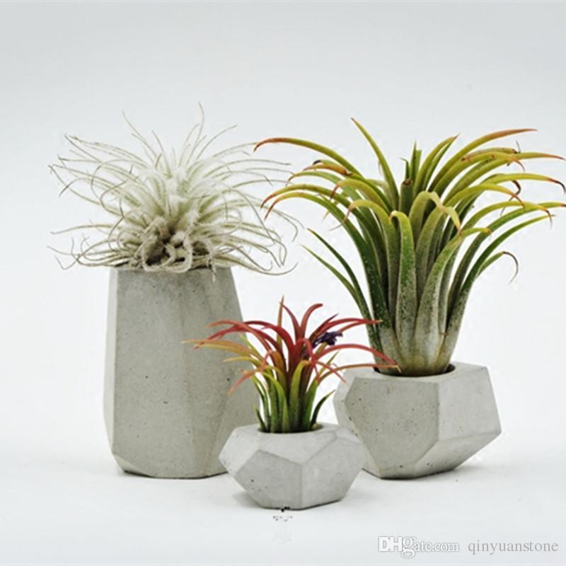 Cement Flower Pots Planters Home Decor Plant Concrete For Sale Pot Molds  Manufacturers Prices