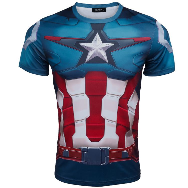 0ad3817d0 Brand New Marvel S The Avengers Cycling Jersey Tops Anti UV Anti Wrinkle  Short Sleeve Cycling Jerseys Tops Only For Beginners Canada 2018 From  China maker