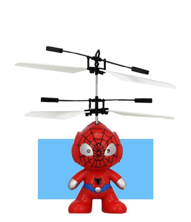 RC Juguete Flying control remoto Spaceman Helicóptero de inducción avión de juguete helicóptero avión no tripulado interior regalo de los niños Juguetes 50 UNIDS