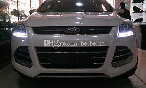 Luz diurna Auto-Tech, kit de guía de luz LED DRL para Ford ESCAPE / Kuga 2013 2014 2015