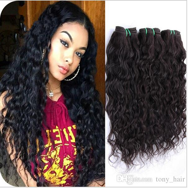 Top Quality Malaysian Wet And Wavy Hair Extensions Unprocessed Human