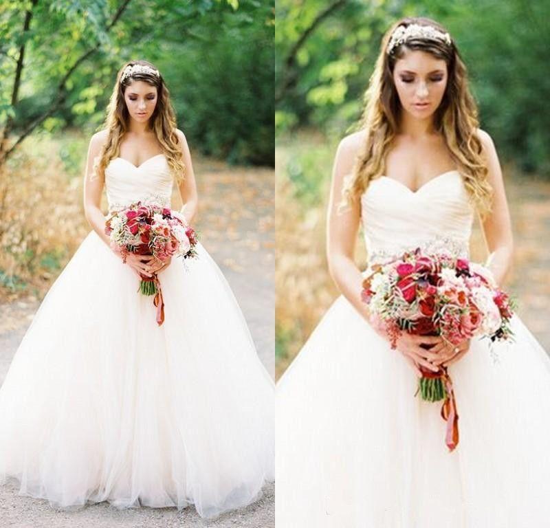 Chic Sweetheart Wedding Dresses