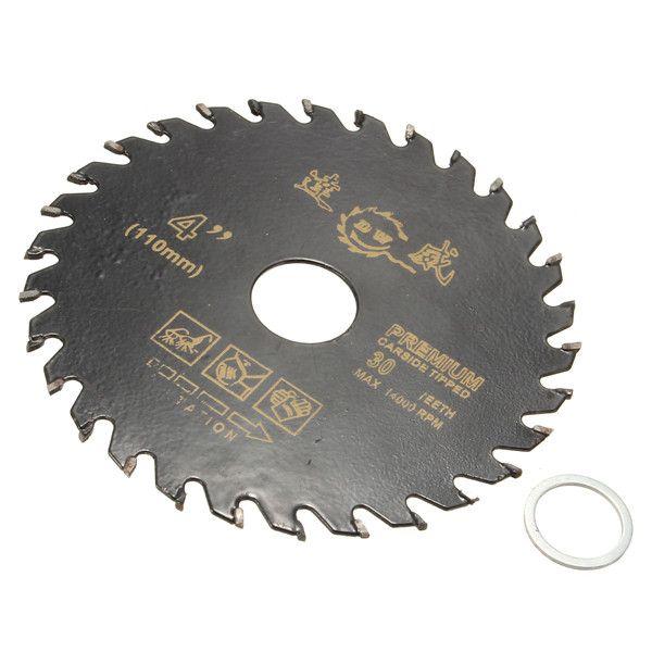 110mm 4 Inch Circular Carbide Cutting Disc Saw Blade Woodworking Tool