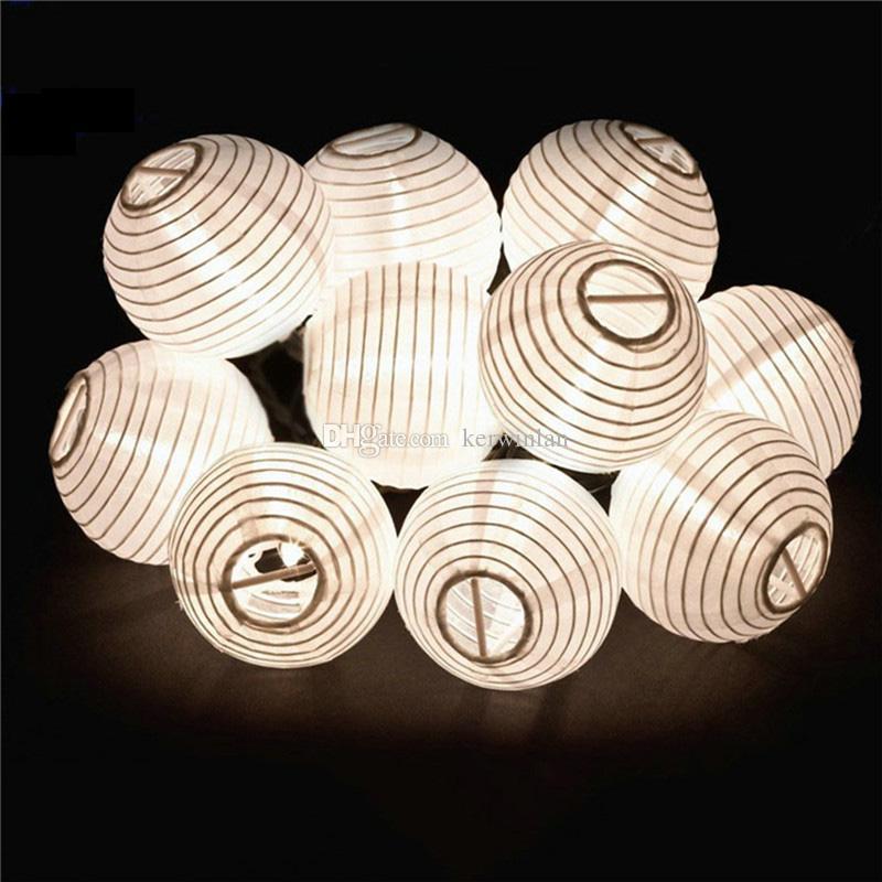 5M 10LED Lantern Solar String Light Lamps Led Christmas Lanterns Led String Light For Outdoor Use Garden Christmas Decoration Light