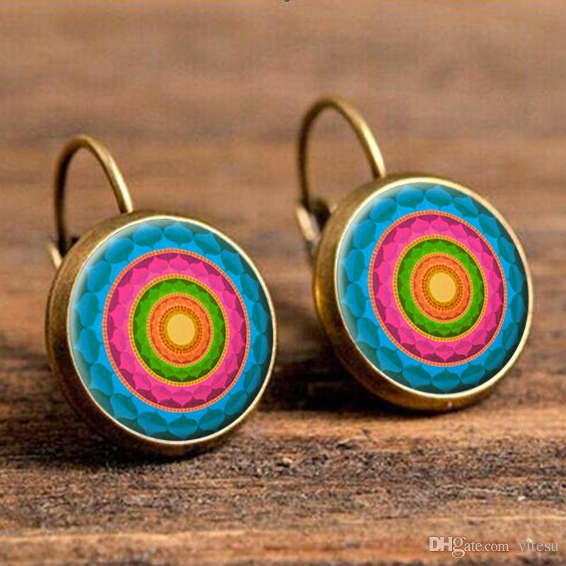 Coppia di orecchini vintage donna
