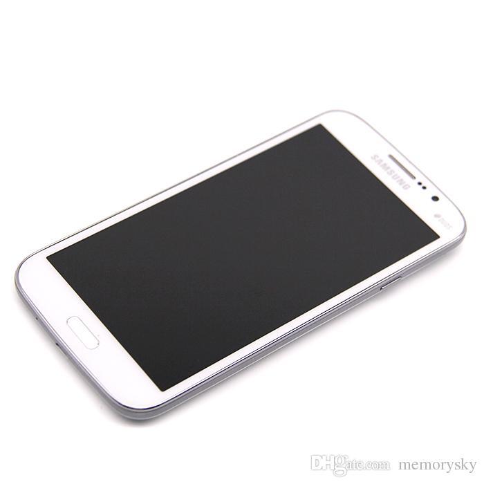 مقفلة الأصلي سامسونج غالاكسي ميجا 5.8 تجديد I9152 الهاتف الخليوي 5.8 بوصة كاميرا ثنائي النواة 1.5GB RAM 8GB ROM 8MP الهاتف المحمول