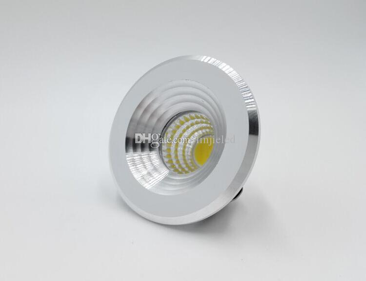 10 개 5W 110V 220V 빛 아래로 5W 통 LED 생활 마이크로 작은 천장 흰색 소형 자리 밍 미니 COB 로비