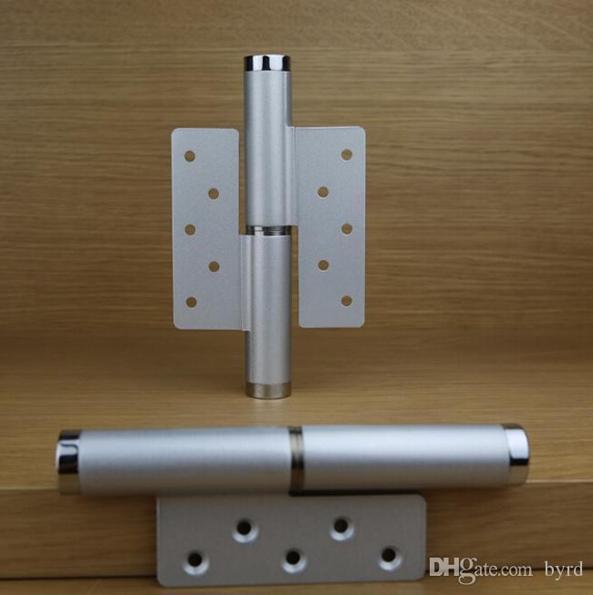 liga de alumínio porta invisível pressão hidráulica porta dobradiça de porta rolha de 6 polegadas 90-180 grau velocidade de posicionamento livre dobradiça direita ajustável