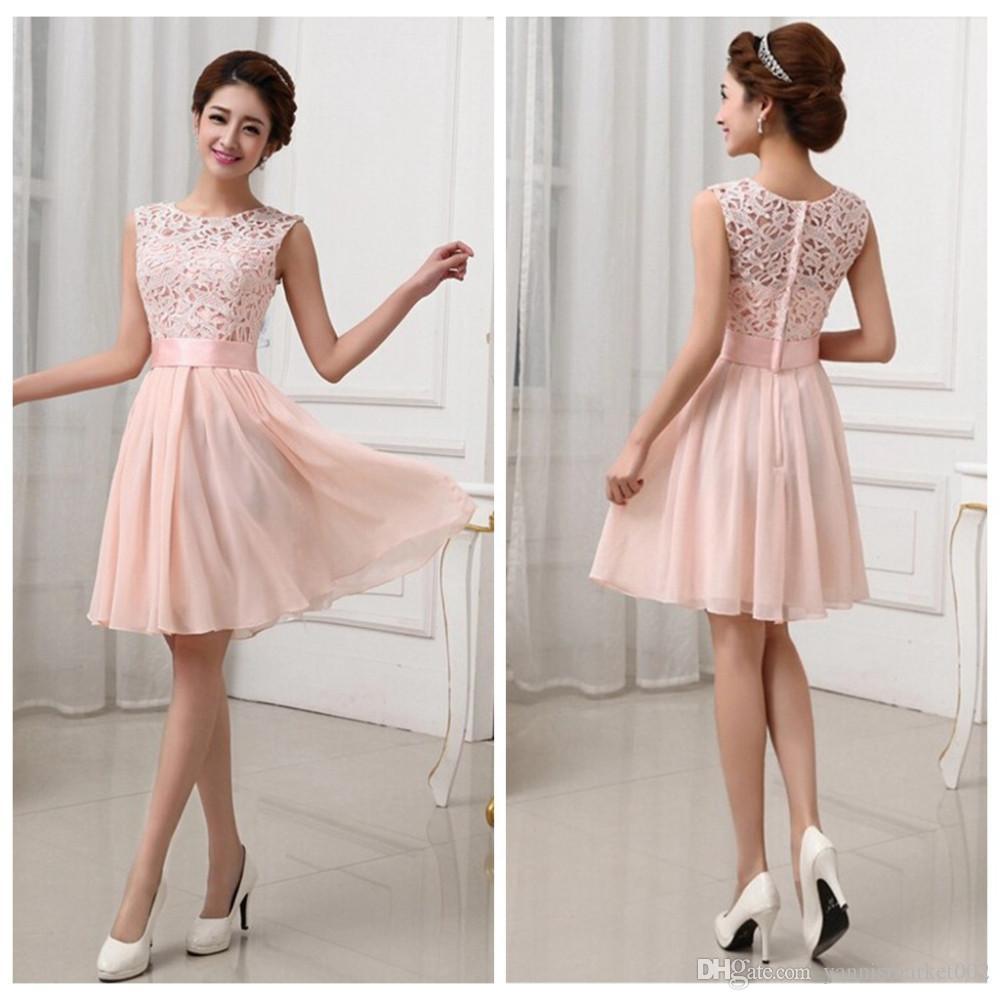 Knee Length Evening Dresses for Weddings