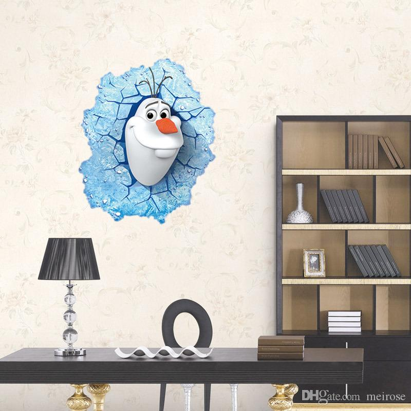 3DRemovable Anime Wall Stickers for Kids,Boys And Girls's Rooms Decorative Wall Decals Home Decoration Carton Wallpaper Product Code:90-1008