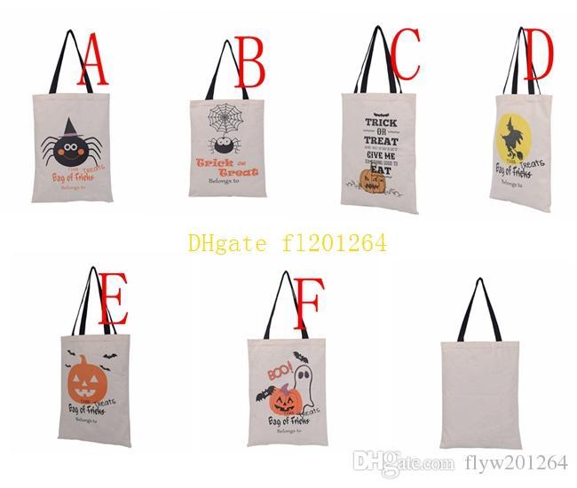 50 шт./лот 2016 новые Хэллоуин подарочная сумка с черной ручкой для женщин девушка тыква покупки сумки фестиваль подарки сумка 36X48 см