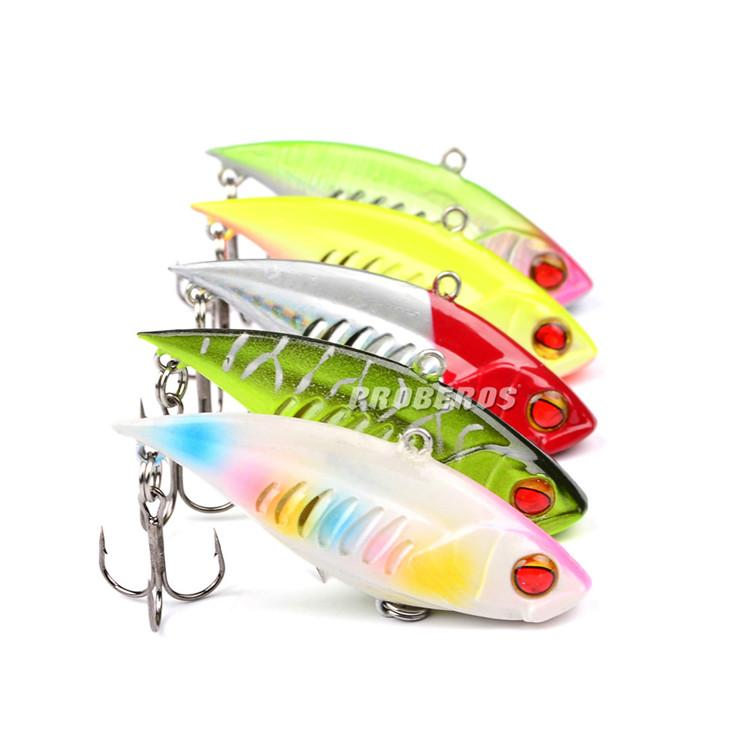 Most Realistic VIB Fishing Lures 6.5cm 11.8g Top Quality 6# vmc Hook Likelife jerk Bait