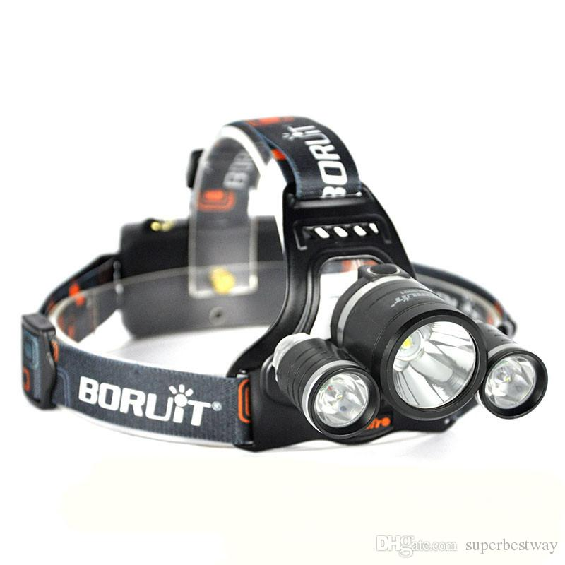 T6 LED Headlight Dual Light Source Zoom Headlamp Bicycle Light Headlamp 3 CREE T6 Outdoor Flash Light With Retail Package OTH272