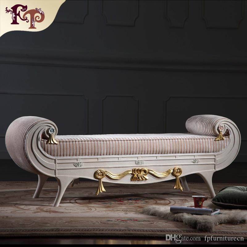 2019 Versailles Bed End Bench French Classic Furniture,European ...