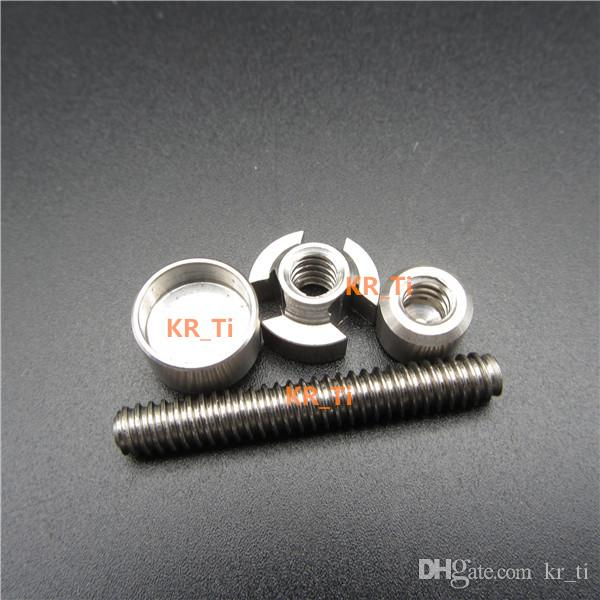 heißer Verkauf billig und erschwinglich von KR_Ti GR2 14mm18mm verstellbarer Titannagel für Glasbong von KR_Ti